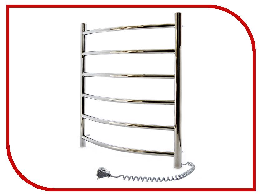 Полотенцесушитель Navin Камелия 480x600 - нержавеющая сталь левый