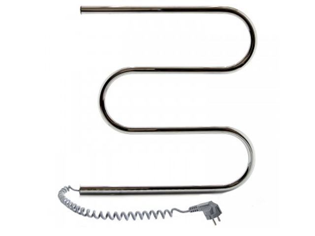 Полотенцесушитель Navin Змеевик 500x500 - нержавеющая сталь левый