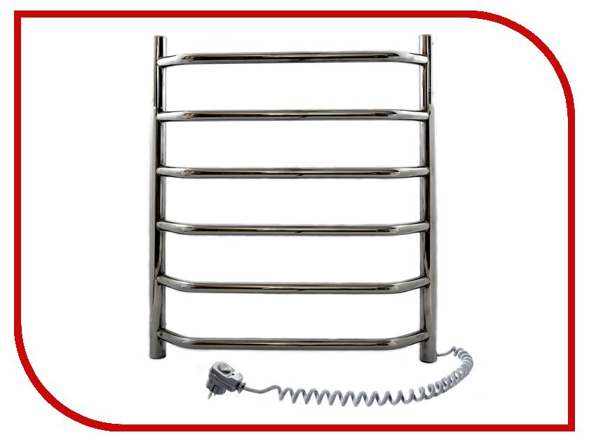 Полотенцесушитель Navin Блюз 480x600 - нержавеющая сталь левый<br>