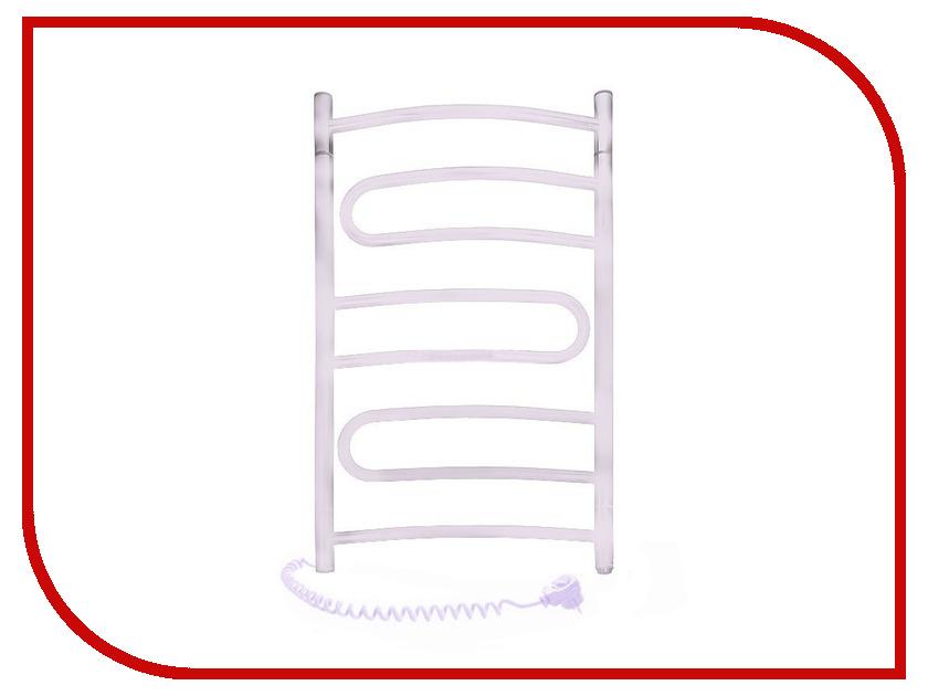 Полотенцесушитель Navin Пируэт 480x800 - углеродистая сталь левый<br>