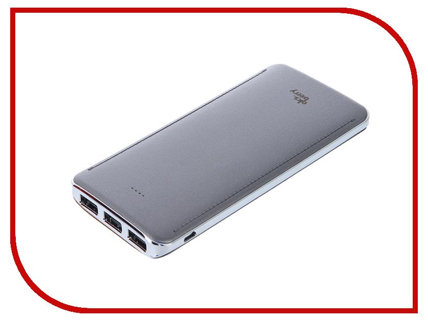 ����������� Aksberry K10 Li-Pol 3xUSB 10000mAh Grey