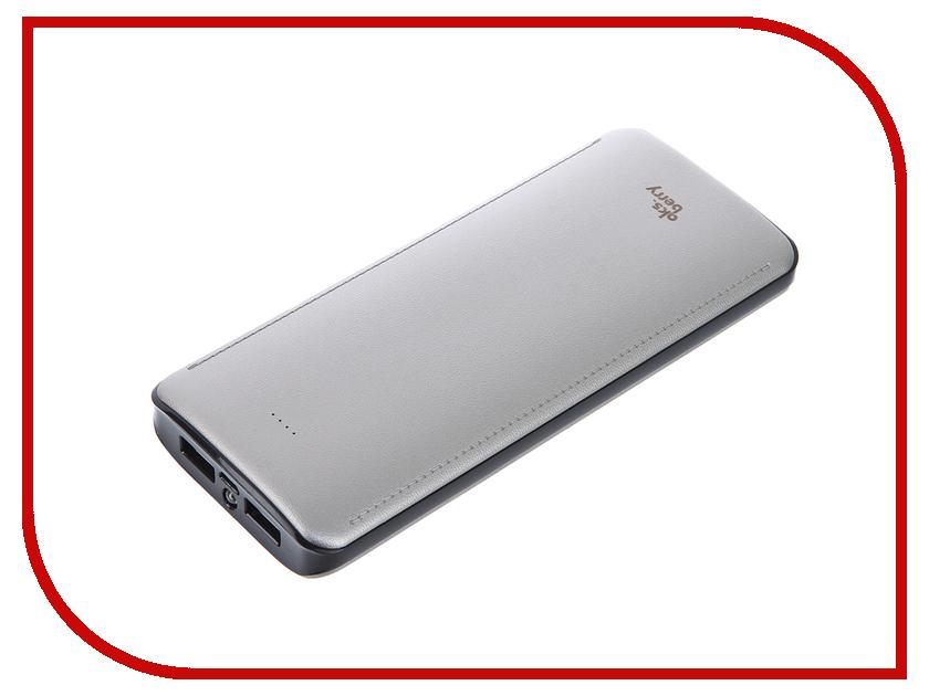 Аккумулятор Aksberry K12-1 Li-Ion 15600mAh 2xUSB Gold<br>