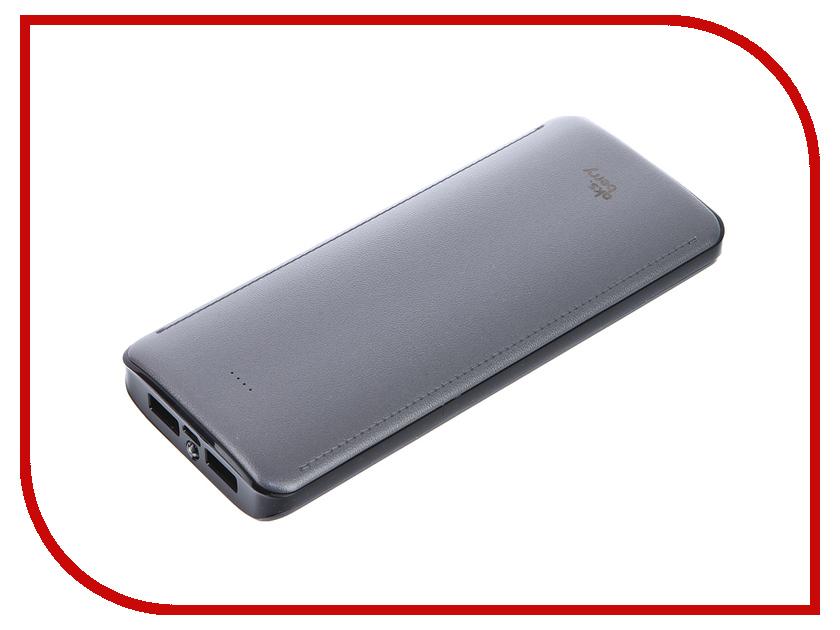 Аккумулятор Aksberry K12-1 Li-Ion 15600mAh 2xUSB Grey<br>