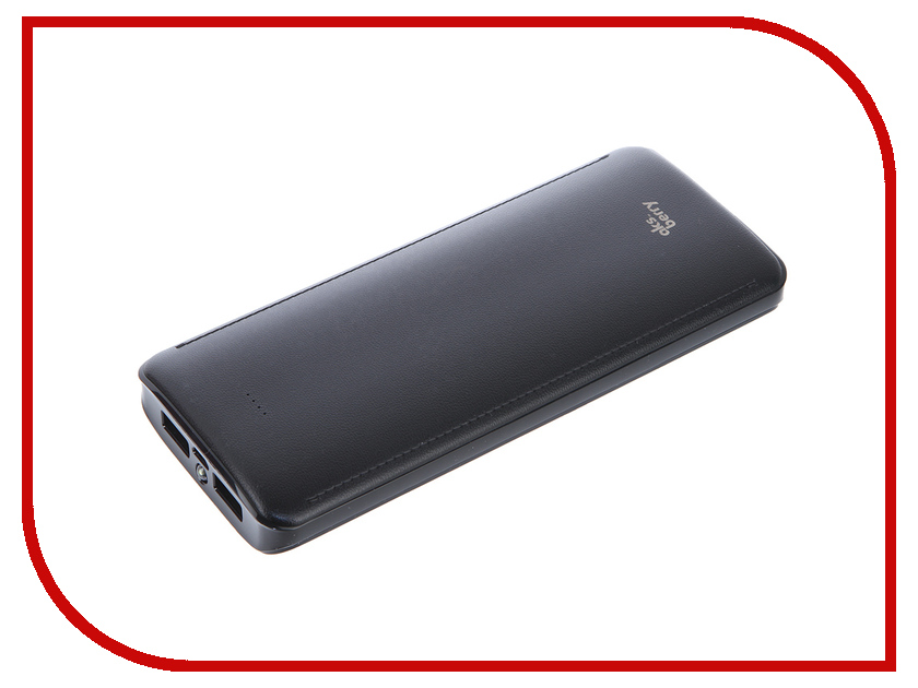 Аккумулятор Aksberry K12-1 Li-Ion 15600mAh 2xUSB Black<br>