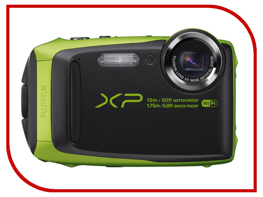Фотоаппарат FujiFilm FinePix XP90 Lime<br>