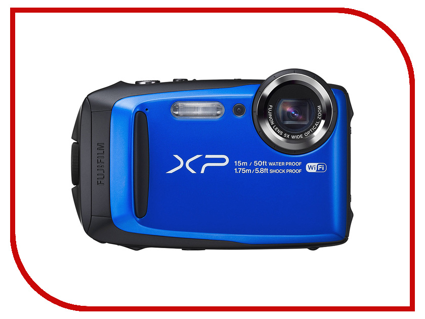 Zakazat.ru: Фотоаппарат FujiFilm FinePix XP90 Blue
