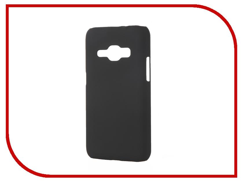 Аксессуар Чехол Samsung Galaxy J1 2016 Pulsar Clipcase PC Soft-Touch Black PCC0192<br>