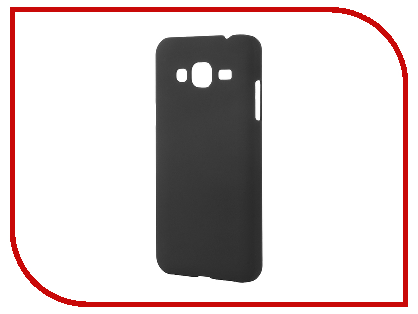 Аксессуар Чехол Samsung Galaxy J3 2016 Pulsar Clipcase PC Soft-Touch Black PCC0196<br>