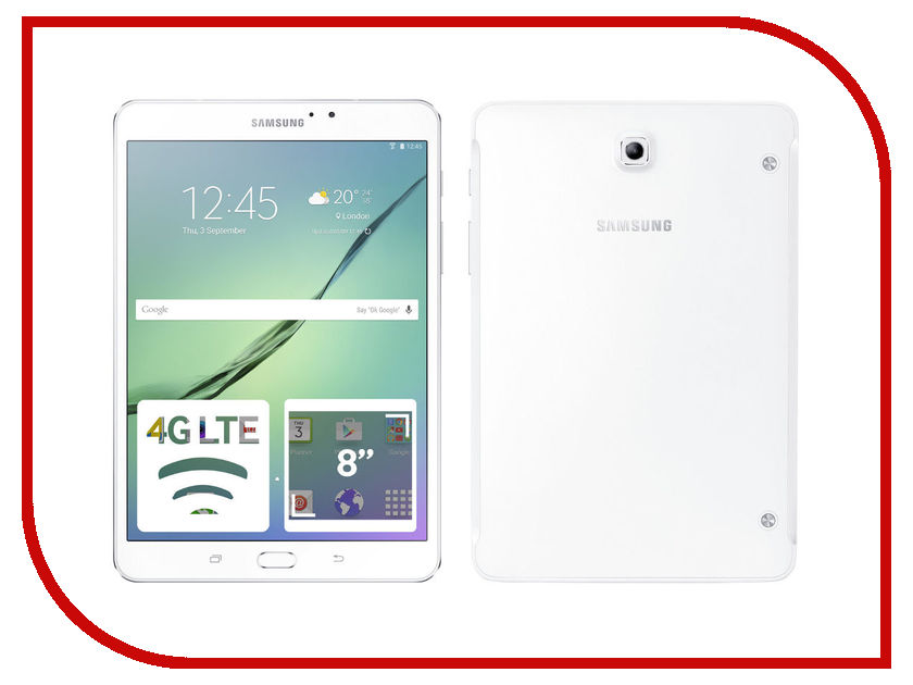 Планшет Samsung SM-T719N Galaxy Tab S2 8.0 - 32Gb LTE White SM-T719NZWESER (Qualcomm Snapdragon 652 1.8 GHz/3072Mb/32Gb/Wi-Fi/Bluetooth/Cam/8.0/2048x1536/Android) планшет samsung sm t719n galaxy tab s2 8 0 32gb lte black sm t719nzkeser qualcomm snapdragon 652 1 8 ghz 3072mb 32gb wi fi bluetooth cam 8 0 2048x1536 android