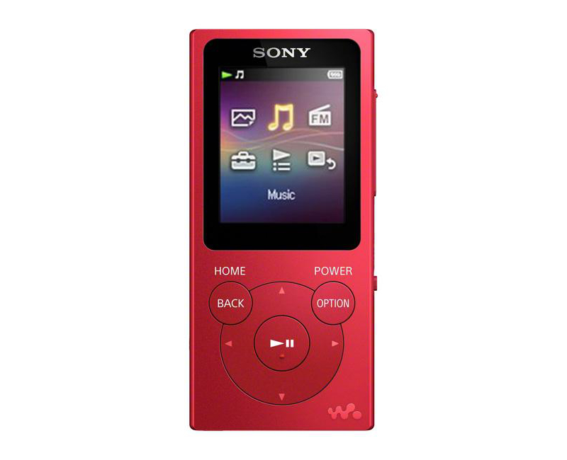 Плеер Sony NW-E394 Walkman - 8Gb Red
