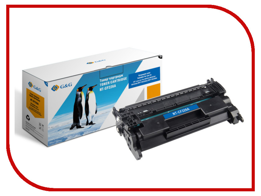 Картридж G&amp;G NT-CF226A for HP LaserJet Pro400 M402n/dn/dw<br>
