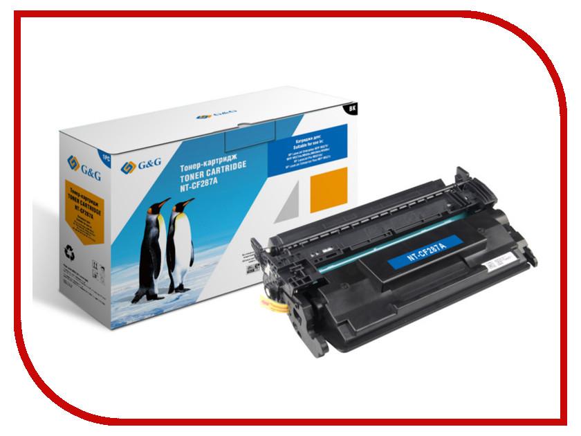 Картридж G&amp;G NT-CF287A for HP LaserJet Enrterprise M506 x/n/dn<br>