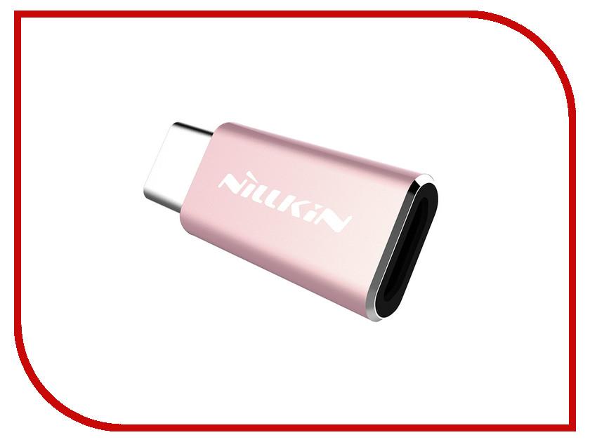 Аксессуар Nillkin MicroUSB - Type-C Adapter Rose NLK-874004Y0418<br>