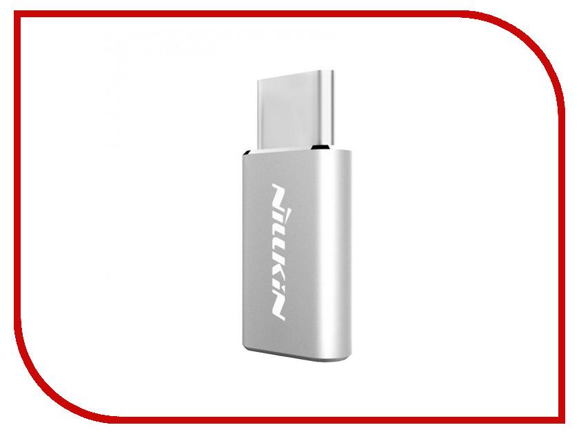 Аксессуар Nillkin MicroUSB - Type-C Adapter Silver NLK-874004Y0417<br>