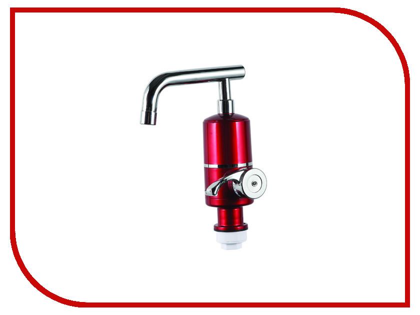 Кран мгновенного нагрева воды Акватерм КА-007R 3000Вт Red