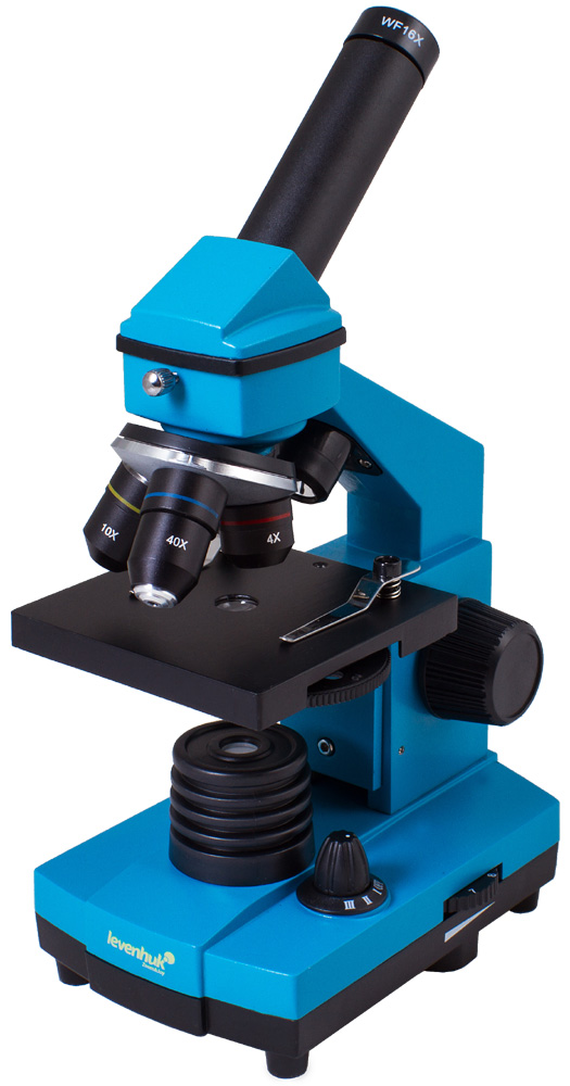 лучшая цена Микроскоп Levenhuk Rainbow 2L Plus Azure