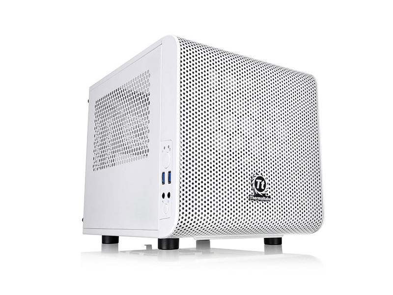 Корпус Thermaltake Core V1 White CA-1B8-00S6WN-01