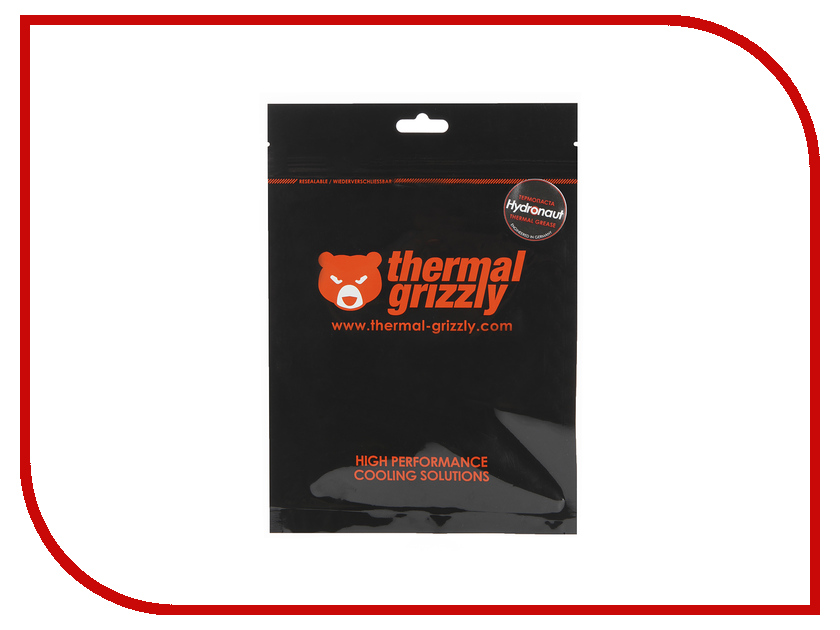 Термопаста Thermal Grizzly Hydronaut 1г TG-H-001-RS thermal grizzly kryonaut thermal grease tg k 001 rs ru шприц 1 гр