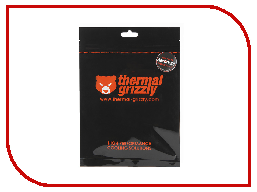 Термопаста Thermal Grizzly Aeronaut 3.9г TG-A-015-R thermal grizzly kryonaut thermal grease tg k 001 rs ru шприц 1 гр