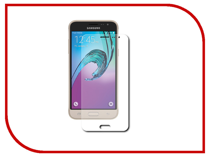 ��������� �������� ������ Samsung Galaxy J3 2016 Zibelino 0.33mm 2.5D