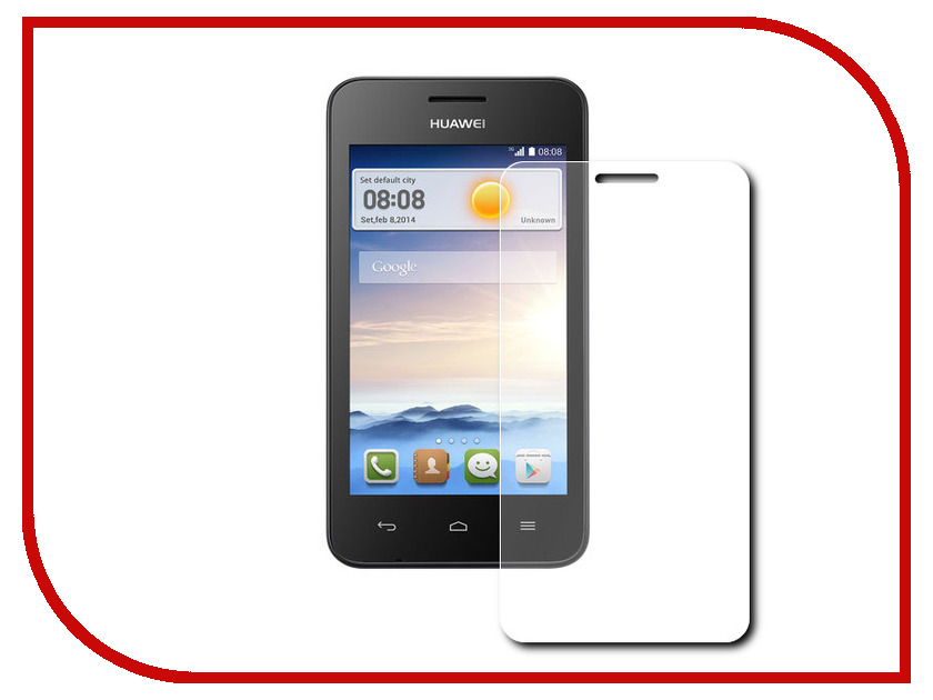 Аксессуар Защитное стекло Huawei Y330 Zibelino 0.33mm 2.5D<br>