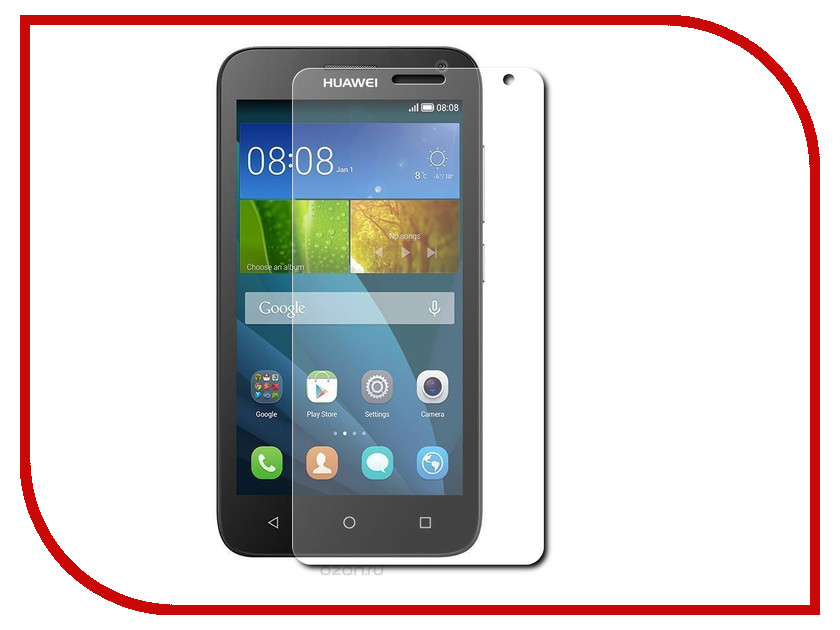Аксессуар Защитное стекло Huawei Y336 Y3C Zibelino 0.33mm 2.5D<br>