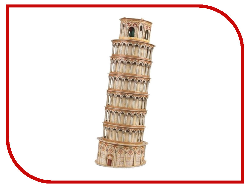 3D-пазл Magic Puzzle Leaning Tower 48x18x18cm RC38445<br>