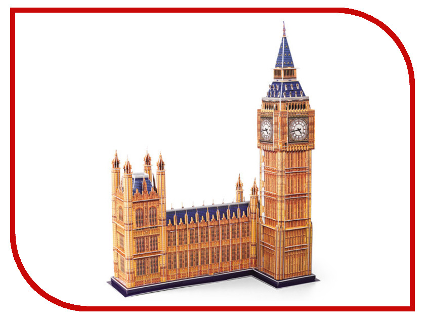 3D-пазл Magic Puzzle London Big Ben 47x35x62.5cm RC38441