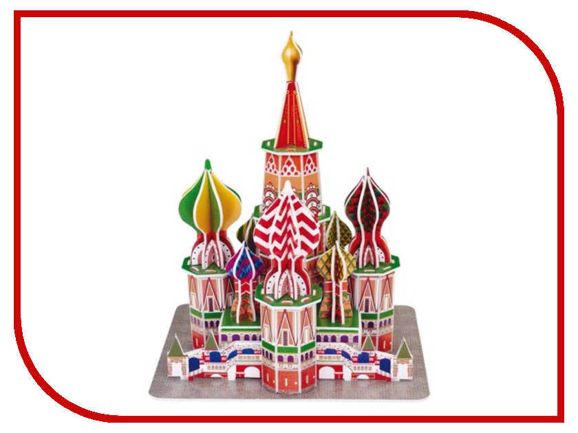 3D-пазл Magic Puzzle ST. BasilS Cathedral 1 RC38428