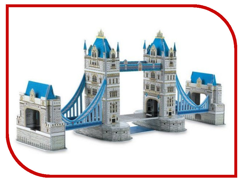 3D-пазл Magic Puzzle Tower Bridge 41x10.5x16cm RC38426