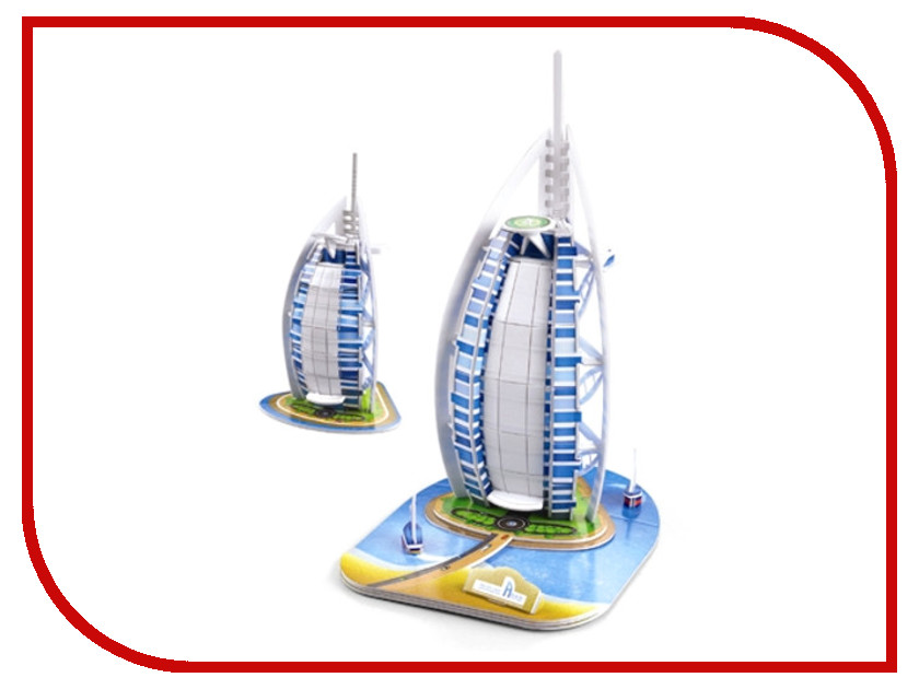 3D-пазл Magic Puzzle Burj AL Arab 24x20x30cm RC38424 promoting social change in the arab gulf