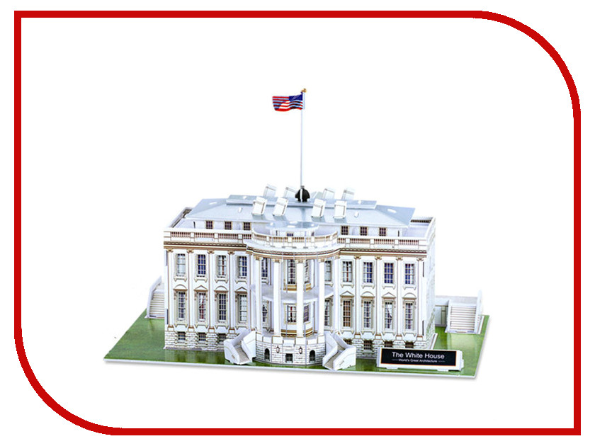 3D-пазл Magic Puzzle The White House RC38422<br>