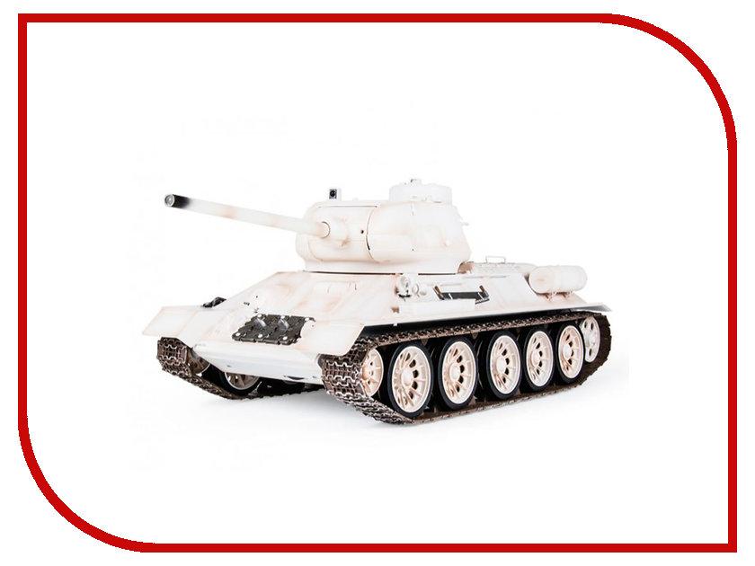 Радиоуправляемая игрушка Pilotage Т-34/85 White RC17233<br>
