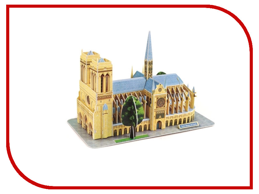 3D-пазл Magic Puzzle Notre-Dame De Paris RC38416<br>