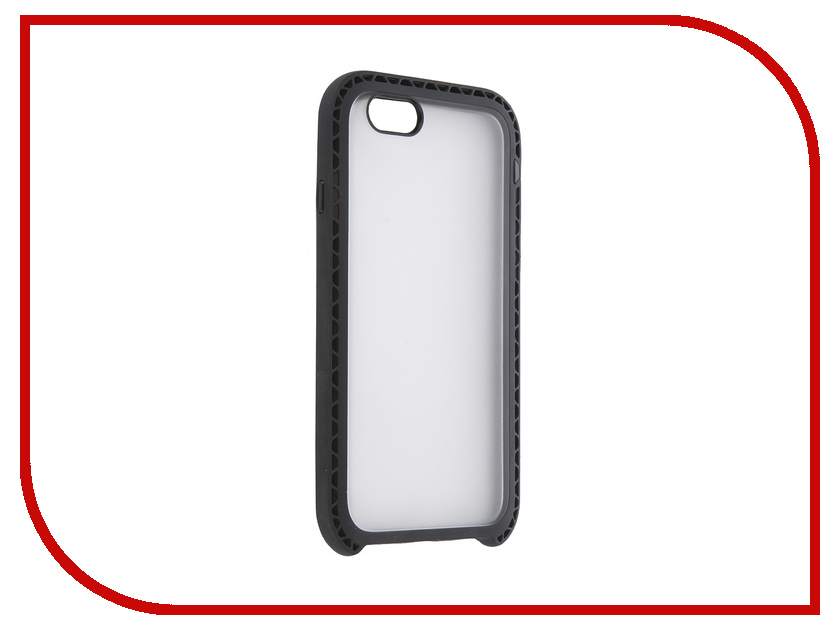 Аксессуар Чехол LunaTik Seismik для APPLE iPhone 6/6s Black Clear