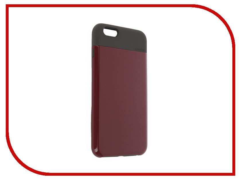 Аксессуар Чехол LunaTik Flak для APPLE iPhone 6 Plus Dark Raspberry<br>