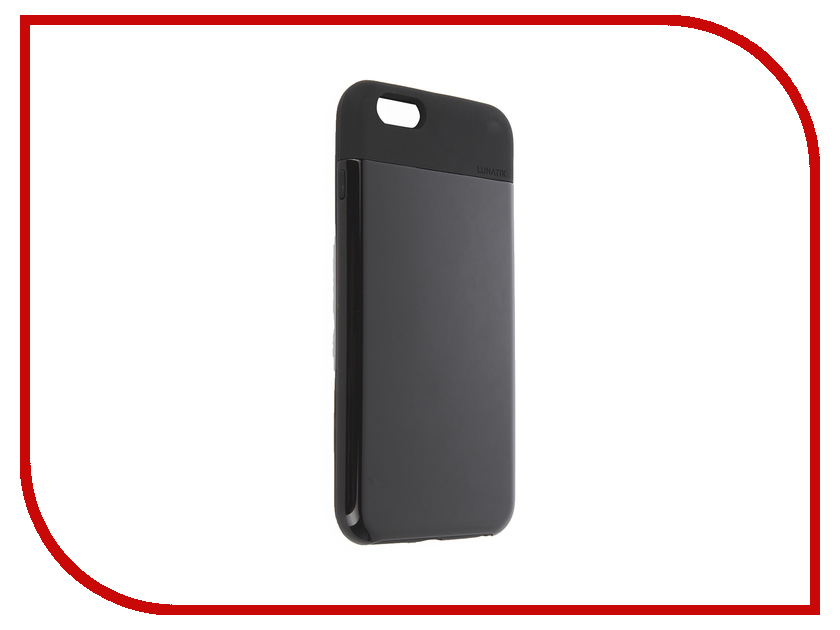 Аксессуар Чехол LunaTik Flak для APPLE iPhone 6 Plus Black<br>