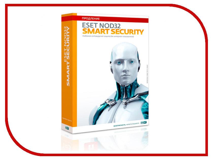 Программное обеспечение ESET NOD32 Smart Security - продление лицензии на 20 месяцев или новая на 1 год на 3PC NOD32-ESS-2012RN(BOX)-1-1
