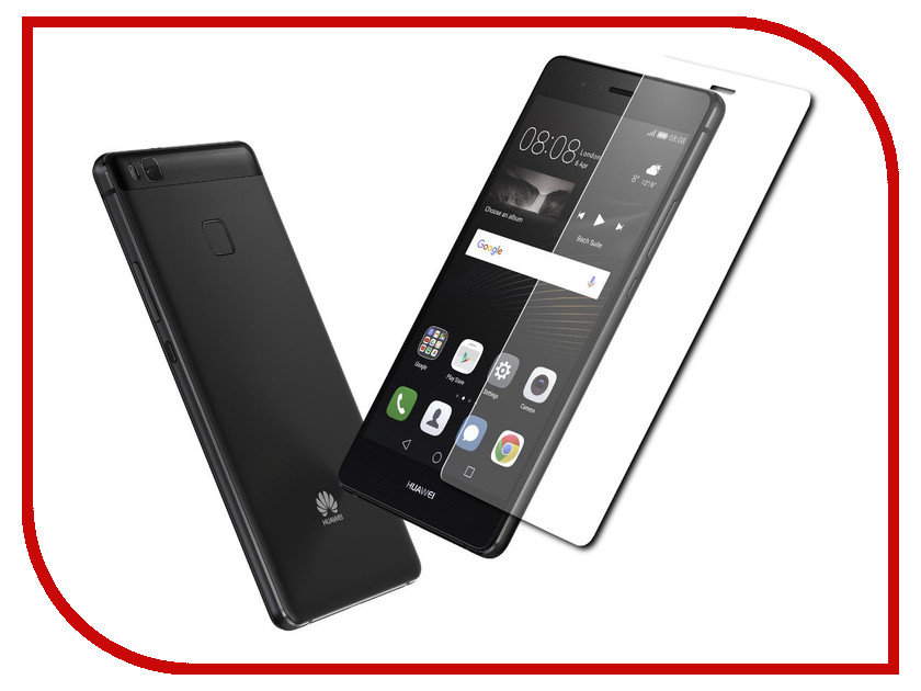 Аксессуар Закаленное стекло Huawei P9 Lite DF hwSteel-13 аксессуар закаленное стекло df isteel 06 для iphone 6