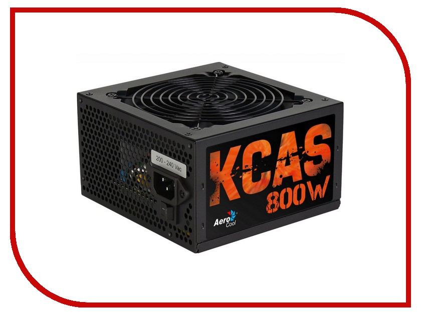 Блок питания AeroCool Retail KCAS-800W 800W