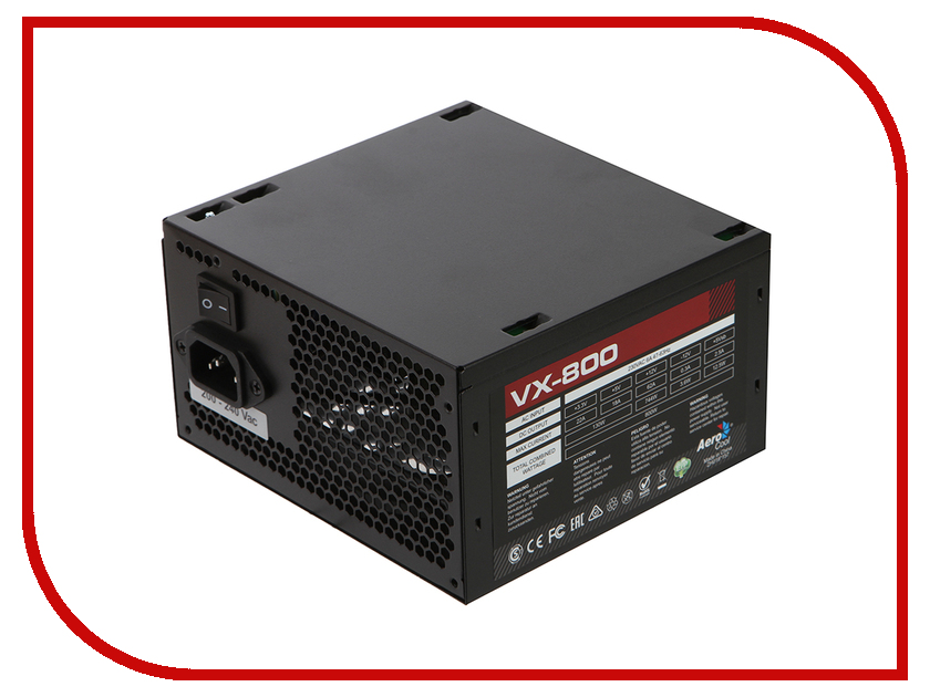 Блок питания AeroCool Retail VX-800 800W<br>