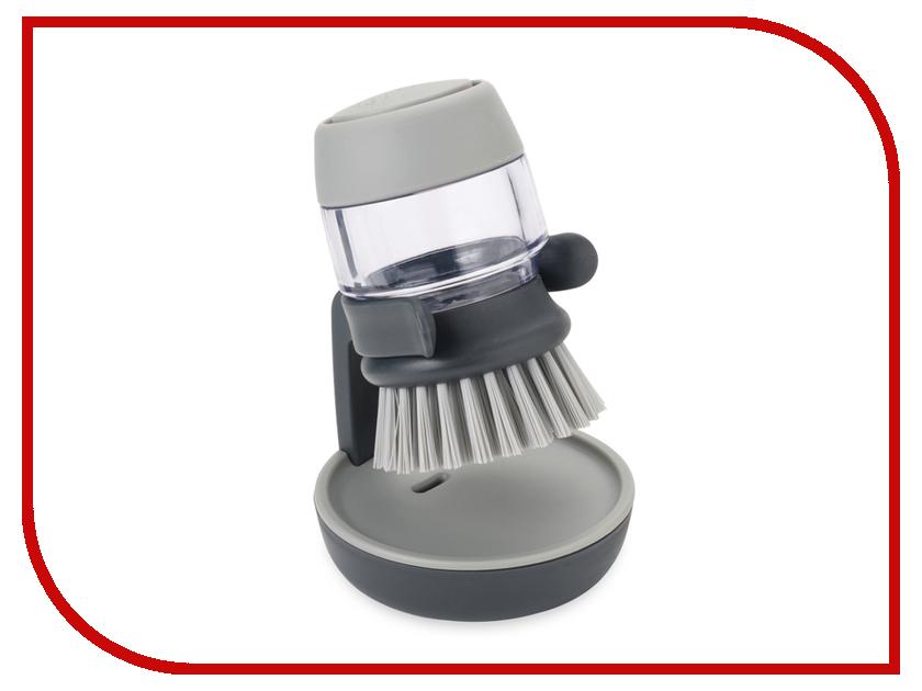 Кухонная принадлежность Joseph Joseph Palm Scrub Grey Щетка с дозатором моющего средства 85005<br>
