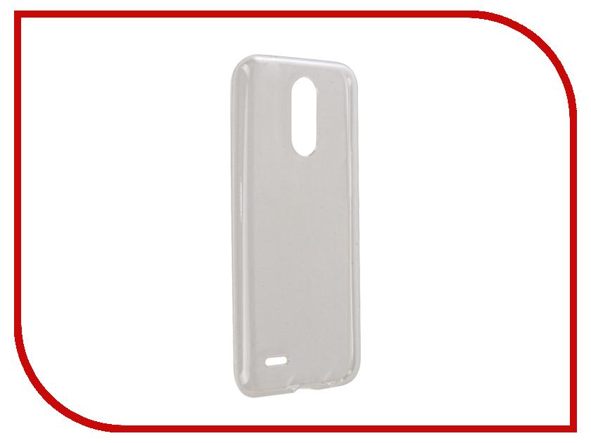Аксессуар Чехол для LG K10 2017 M250 Zibelino Ultra Thin Case White ZUTC-LG-K10-2017-WHT чехол клип кейс lg m250 voia для lg k10 2017 m250 прозрачный