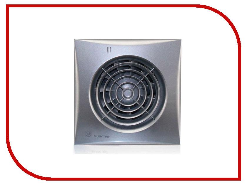 Вытяжной вентилятор Soler &amp; Palau SILENT-100 CRZ Silver<br>