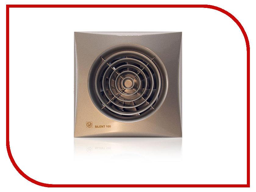 Вытяжной вентилятор Soler &amp; Palau SILENT-100 CZ Champagne<br>