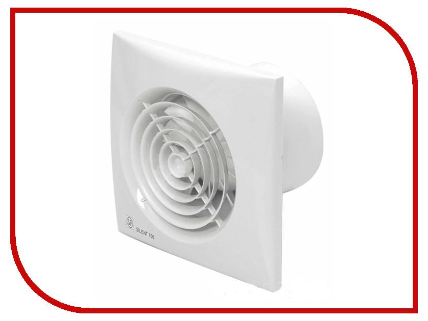 Вытяжной вентилятор Soler & Palau SILENT-100 CDZ White