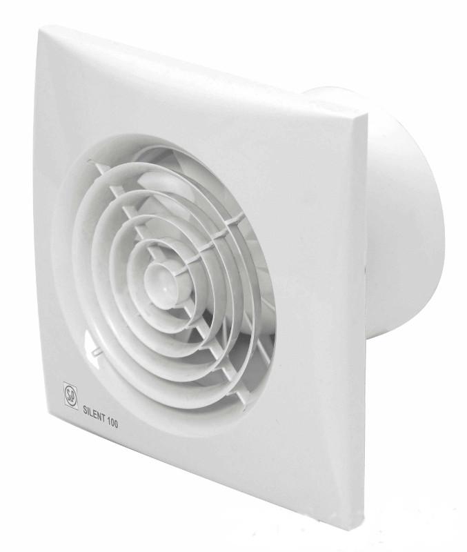Вытяжной вентилятор Soler & Palau SILENT-100 CHZ White