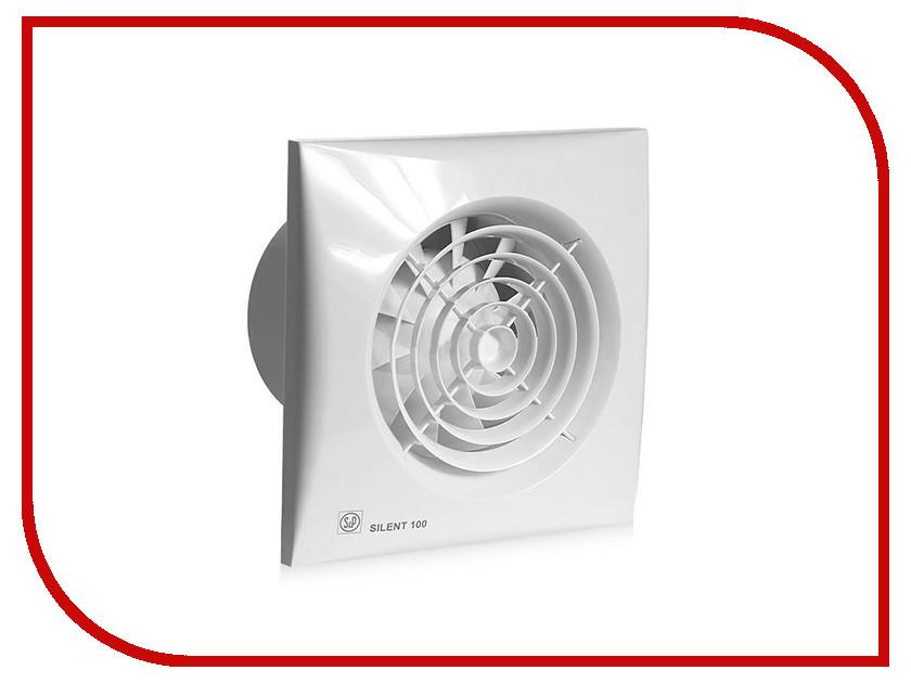 Вытяжной вентилятор Soler &amp; Palau SILENT-100 CMZ White<br>