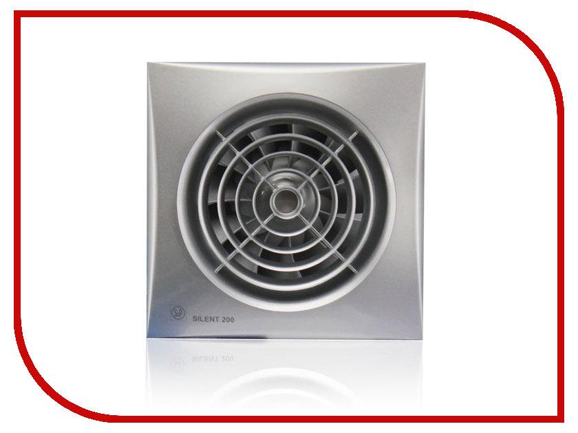 Вытяжной вентилятор Soler & Palau SILENT-200 CRZ Silver