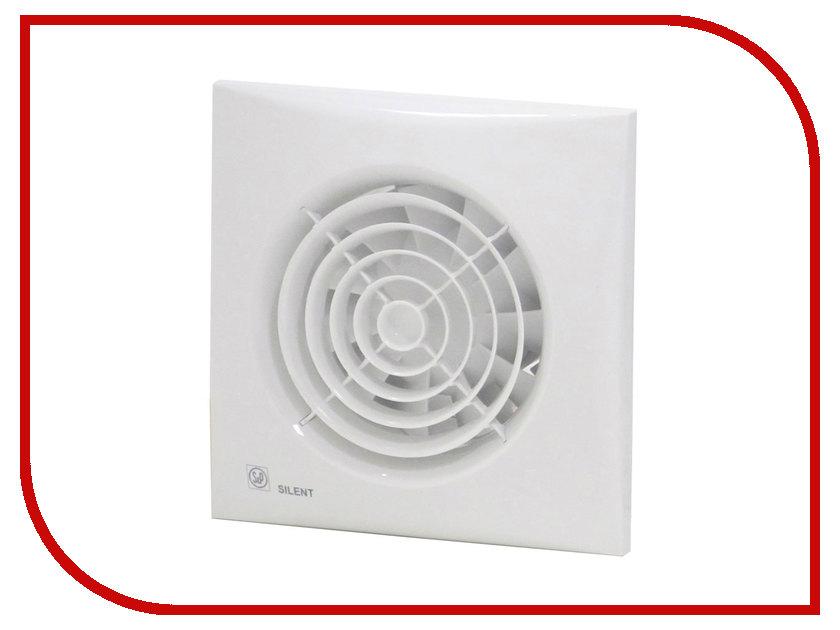 Вытяжной вентилятор Soler &amp; Palau SILENT-300 CHZ PLUS White<br>